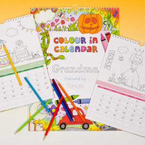 Children's Colour-In Calendars