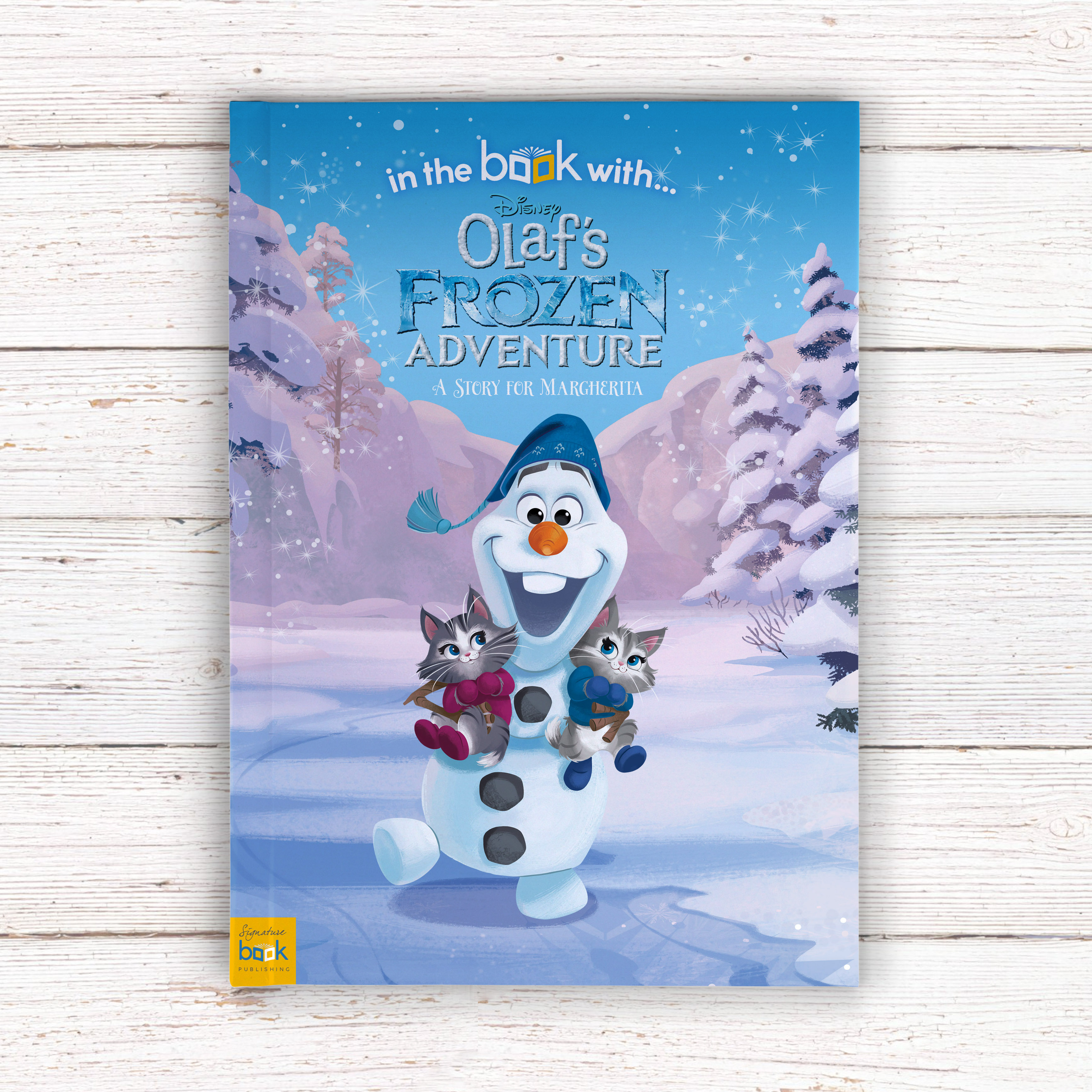 Personalised Disney Olaf's Frozen Adventure Story Book