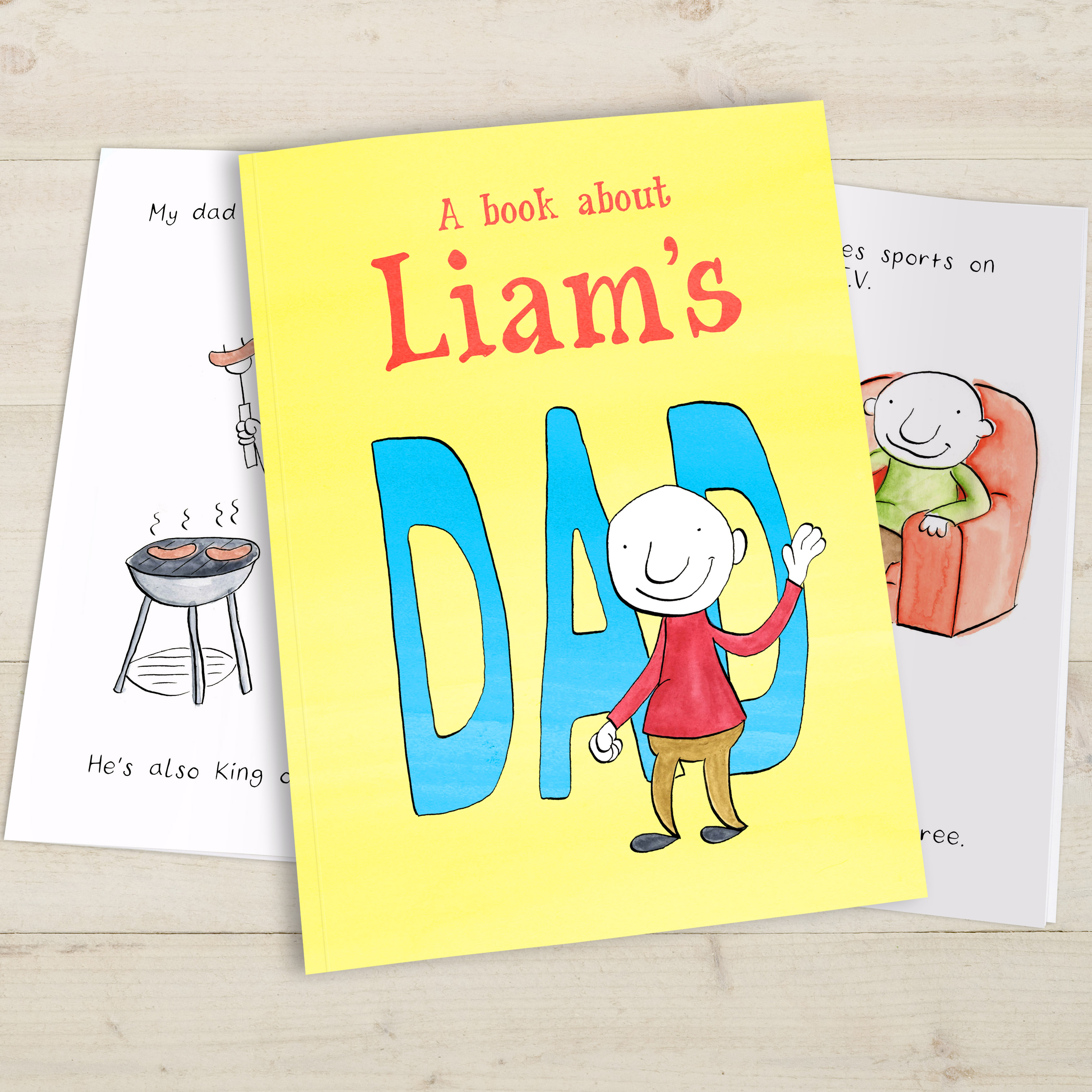 sc 1 st  Signature Gifts & Personalised My Dad Book | Signature Gifts