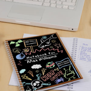 School Themed Notebooks