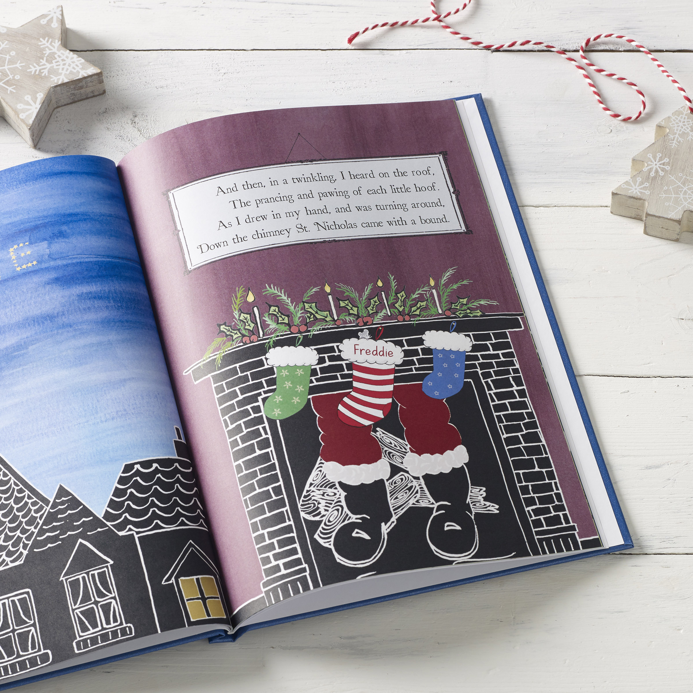 Twas the Night Before Christmas Personalised Book – Signature Gifts