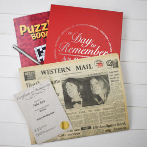 Newspaper & Book Gift Sets