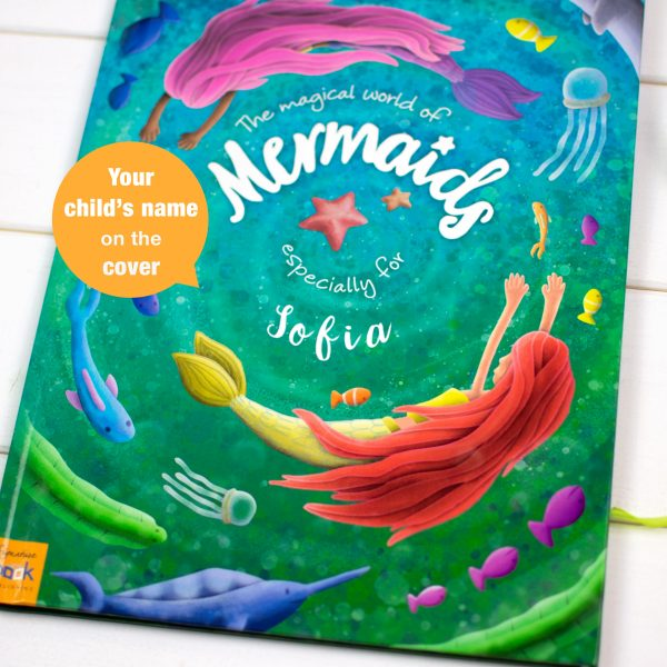 Personalised Mermaid Book for Children